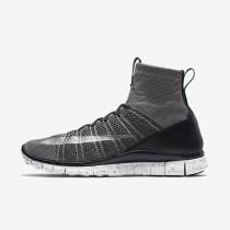 Nike free mercurial superfly para hombre gris oscuro/negro/blanco cumbre/plata_692