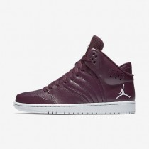 Nike jordan 1 flight 4 para hombre castaña noche/platino puro_694
