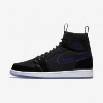 Nike air jordan 1 retro ultra high para hombre negro/negro/blanco/concordia_718