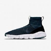 Nike air footscape magista flyknit f.c. para hombre turquesa medianoche/negro/azul verdoso río/turquesa medianoche_730