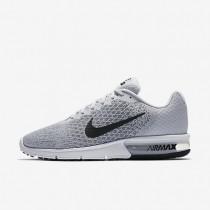 Nike air max sequent 2 para hombre platino puro/gris azulado/gris lobo/negro_767