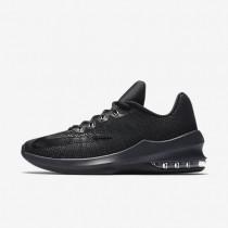 Nike air max infuriate low para hombre negro/antracita/gris oscuro/negro_785