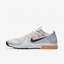 Nike zoom train complete para hombre platino puro/cítrico brillante/gris azulado/negro_797