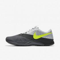 Nike fs lite trainer 4 para hombre gris oscuro/platino puro/antracita/voltio_809
