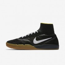 Nike sb koston 3 hyperfeel para hombre negro/amarillo strike/marrón claro goma/blanco_834