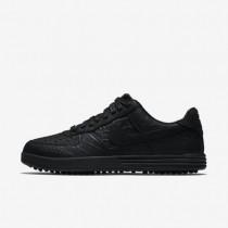 Nike lunar force 1 g premium para hombre negro/negro/negro_852