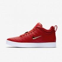 Nike tiempo vetta 17 para hombre rojo universitario/blanco/marrón claro goma/oro metalizado_894