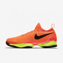 Nike court air zoom ultra react clay para hombre hipernaranja/voltio/negro_897