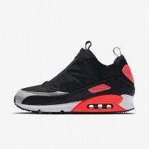 Nike air max 90 utility para hombre negro/gris neutro/carmesí brillante/gris azulado_898