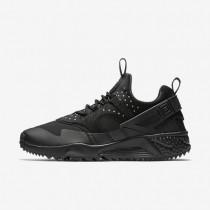 Nike air huarache utility para hombre negro/negro/negro_912