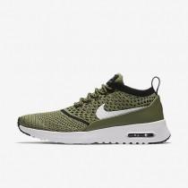 Nike air max thea flyknit para mujer verde palmera/negro/blanco_023