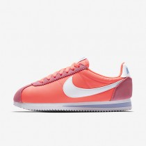 Nike classic cortez 15 nylon para mujer rosa carrera/aluminio/blanco_057