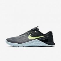 Nike metcon 3 para mujer gris oscuro/azul glacial/negro/verde fantasma_070