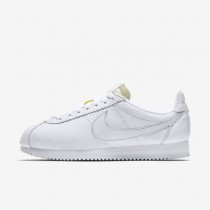 Nike classic cortez leather premium para mujer blanco/blanco_109