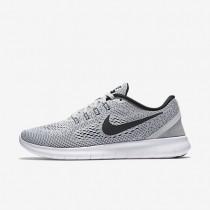 Nike free rn para mujer platino puro/platino puro/negro_148