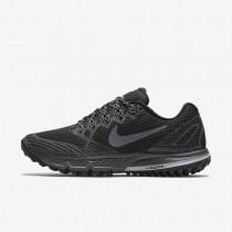 Nike air zoom wildhorse 3 para mujer negro/gris lobo/gris azulado/gris oscuro_155