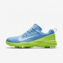 Nike lunar command 2 para mujer azul cielo vivo/verde fantasma/blanco_210