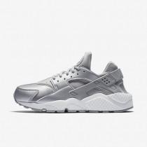 Nike air huarache se para mujer plata metalizado/platino puro/blanco cumbre/plata mate_239