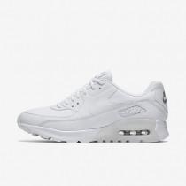 Nike air max 90 ultra essential para mujer blanco/plata metalizado/blanco_262