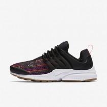 Nike beautiful x air presto jacquard premium para mujer negro/amarillo goma/blanco/lava cálida_284