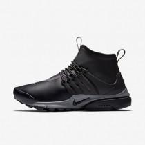 Nike air presto mid utility para mujer negro/reflejo plata/gris oscuro/negro_288