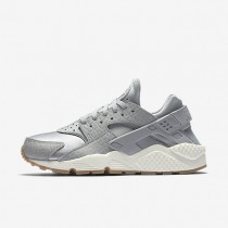 Nike air huarache premium para mujer gris lobo/vela/marrón medio goma/gris lobo_307