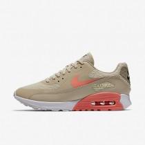Nike air max 90 ultra 2.0 para mujer crudo/blanco/gris oscuro/lava resplandor_312