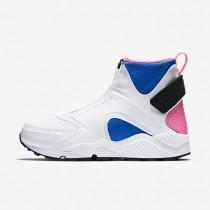 Nike air huarache mid premium para mujer blanco/vuelo/rosa pow/negro_332