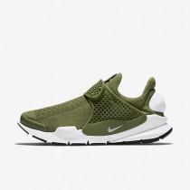 Nike sock dart para mujer verde palmera/negro/blanco_333