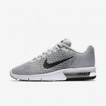 Nike air max sequent 2 para mujer platino puro/gris azulado/gris lobo/negro_336