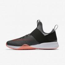 Nike air zoom strong para mujer gris azulado/negro/carmesí total_352