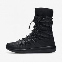 Nike roshe two high para mujer negro/blanco_372