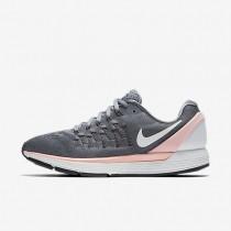 Nike air zoom odyssey 2 para mujer gris azulado/lava resplandor/azul polarizado/blanco cumbre_374