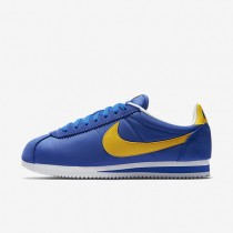 Nike classic cortez nylon unisex royal universitario/blanco/amarillo universitario_001