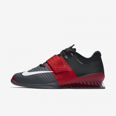 Nike romaleos 3 para hombre rojo universitario/gris oscuro/negro/blanco_022