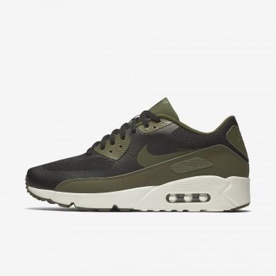 Nike air max 90 ultra 2.0 essential para hombre negro/vela/verde legión_034