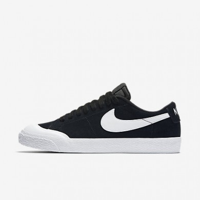 Nike sb blazer low xt para hombre negro/marrón claro goma/blanco/blanco_443