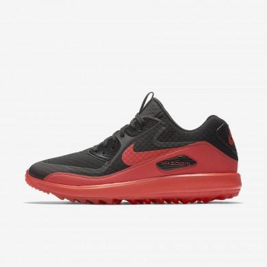 Nike air zoom 90 it para hombre negro/naranja máximo/naranja máximo_466
