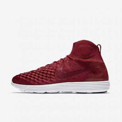 Nike lunar magista ii flyknit para hombre rojo team/rojo team/blanco/rojo team_741