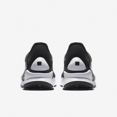 Nike sock dart para mujer negro/blanco_125