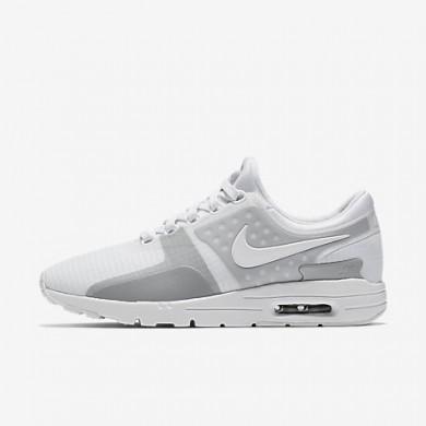 Nike air max zero si para mujer blanco/gris lobo/reflejo plata/blanco_323