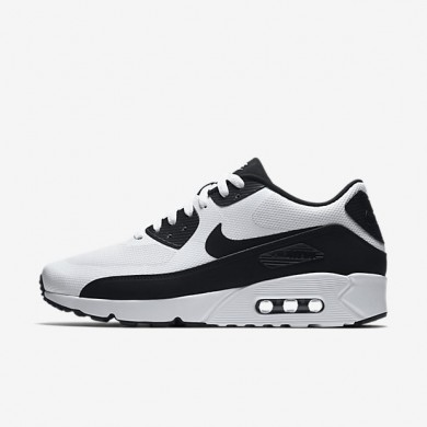 Nike air max 90 ultra 2.0 essential para hombre blanco/blanco/negro_032