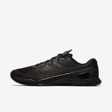 Nike metcon 3 para hombre negro/negro_046