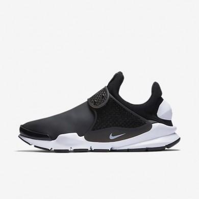 Nike sock dart se para hombre negro/blanco_220