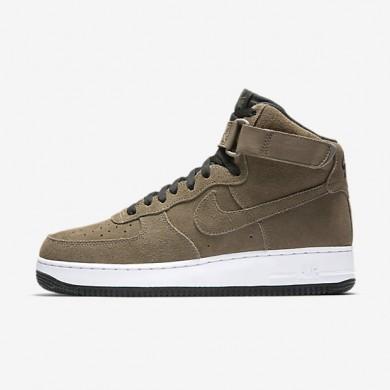 Nike air force 1 high 07 para hombre seta oscuro/negro/blanco/seta oscuro_237