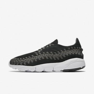 Nike air footscape woven nm para hombre negro/antracita/blanco/negro_238