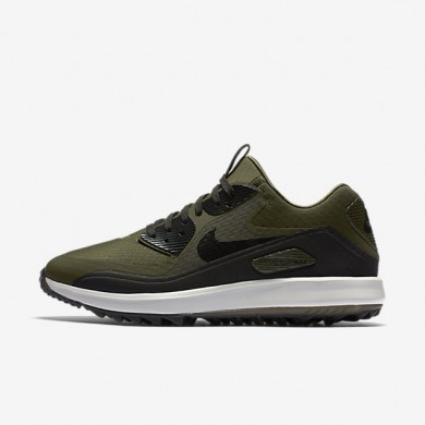Nike air zoom 90 it para hombre caqui militar/blanco cumbre/naranja máximo/negro_464