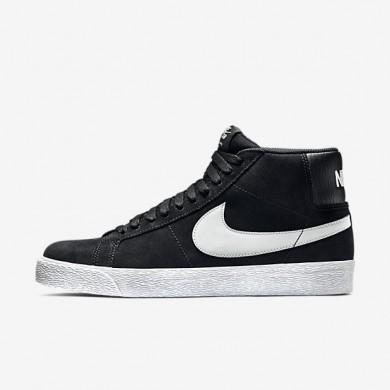 Nike sb zoom blazer premium se para hombre negro/blanco/gris básico_637