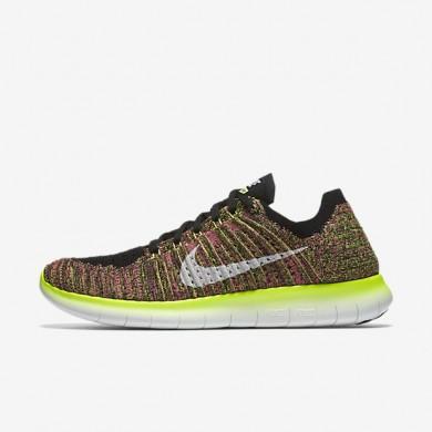 Nike free rn flyknit ultd para hombre voltio/multicolor_764