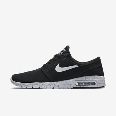 Nike sb stefan janoski max l para hombre negro/blanco_812